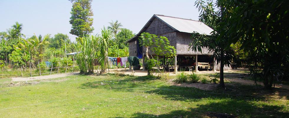 Premier projet d'Un village, une école par Lyli Association, l'école de Tropeng Tim sera construite sur ce terrain.